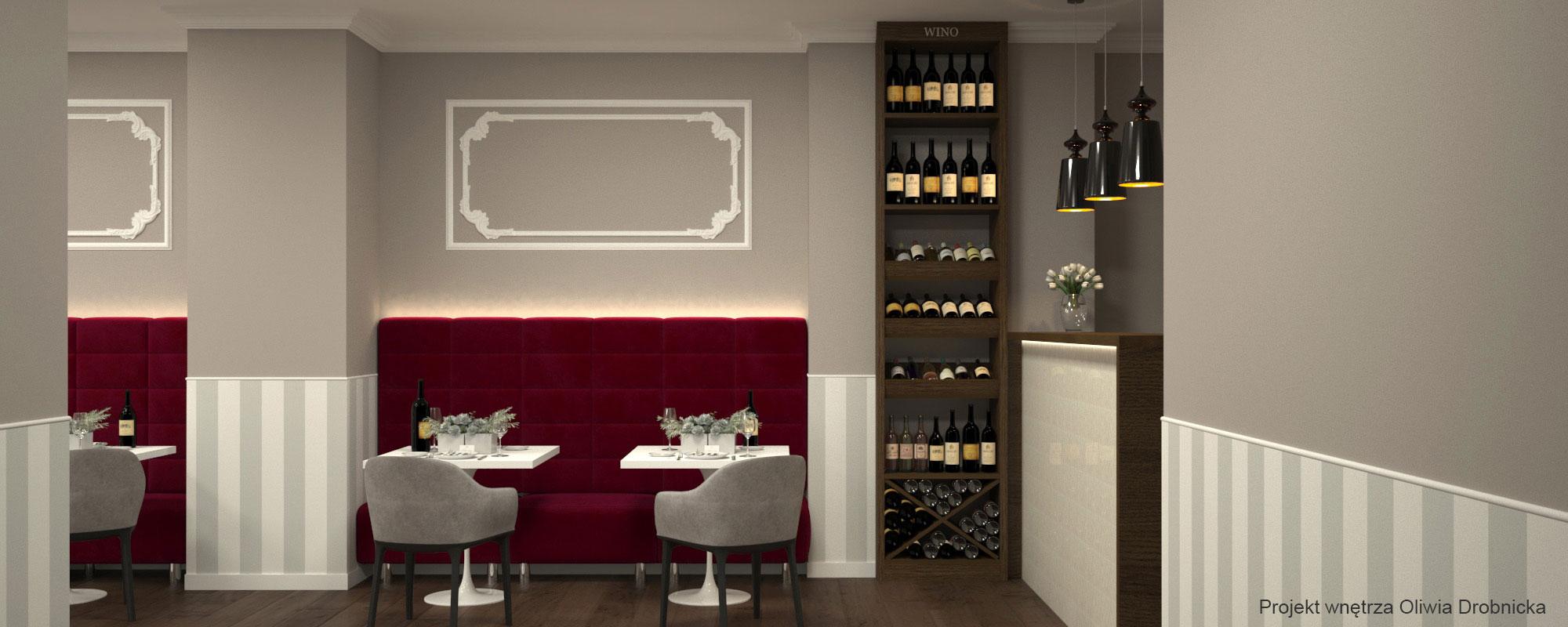 Projekt restauracji Katowice