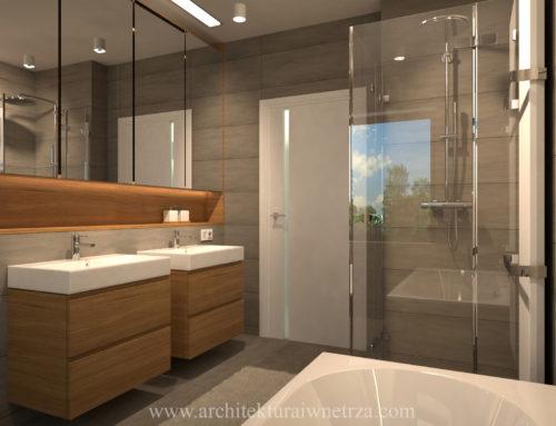 Łazienka w domu w Chorzowie