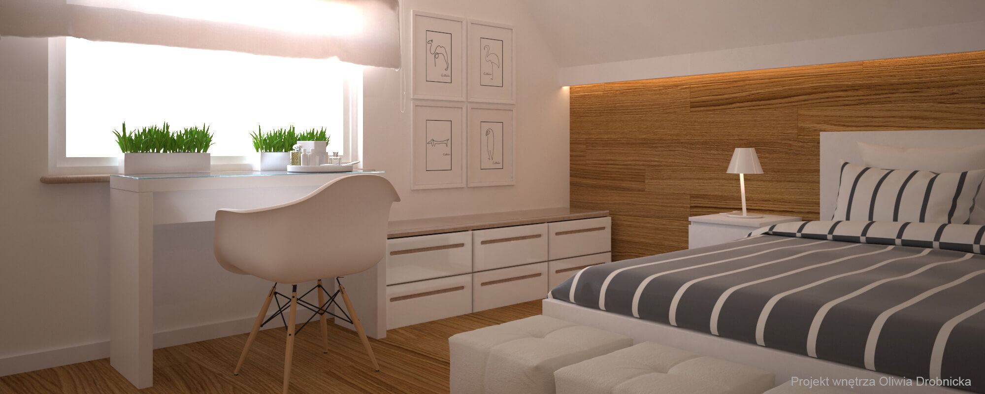 Projektowanie wnętrz Sypialnia