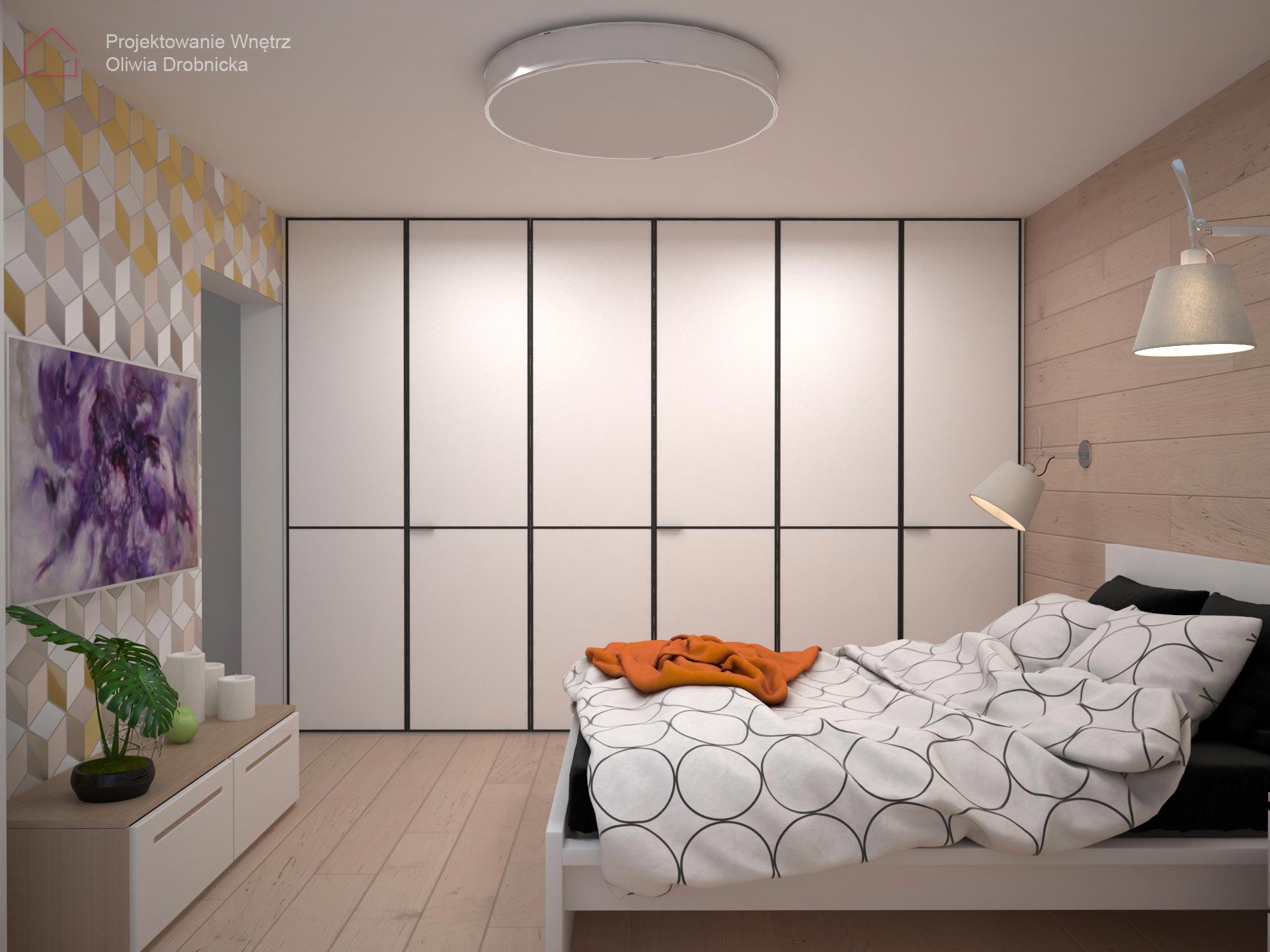 projekt sypialni Warszawa 3