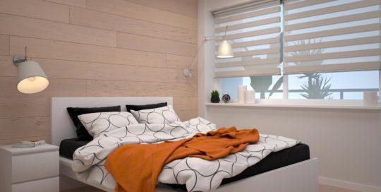 projekt sypialni Warszawa 2