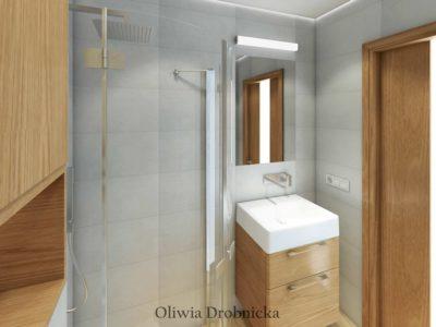 Projekt łazienki 2