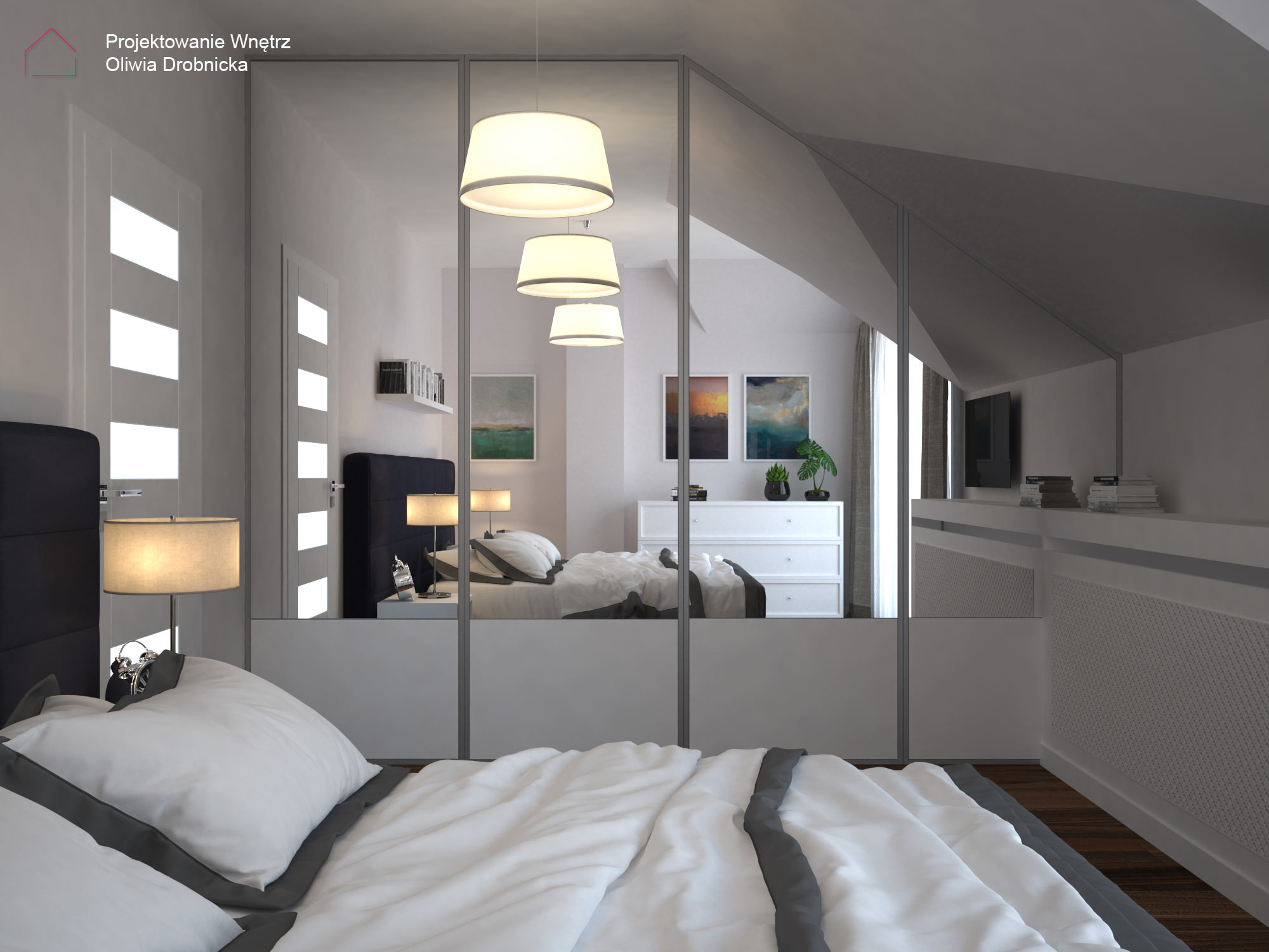 Elegancka sypialnia 3