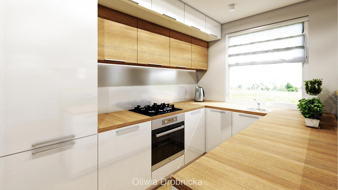 Idealnie Oświetlona Kuchnia Architekt Wnętrz Oliwia Drobnicka