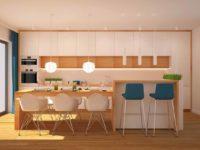 kuchnia ze światłem