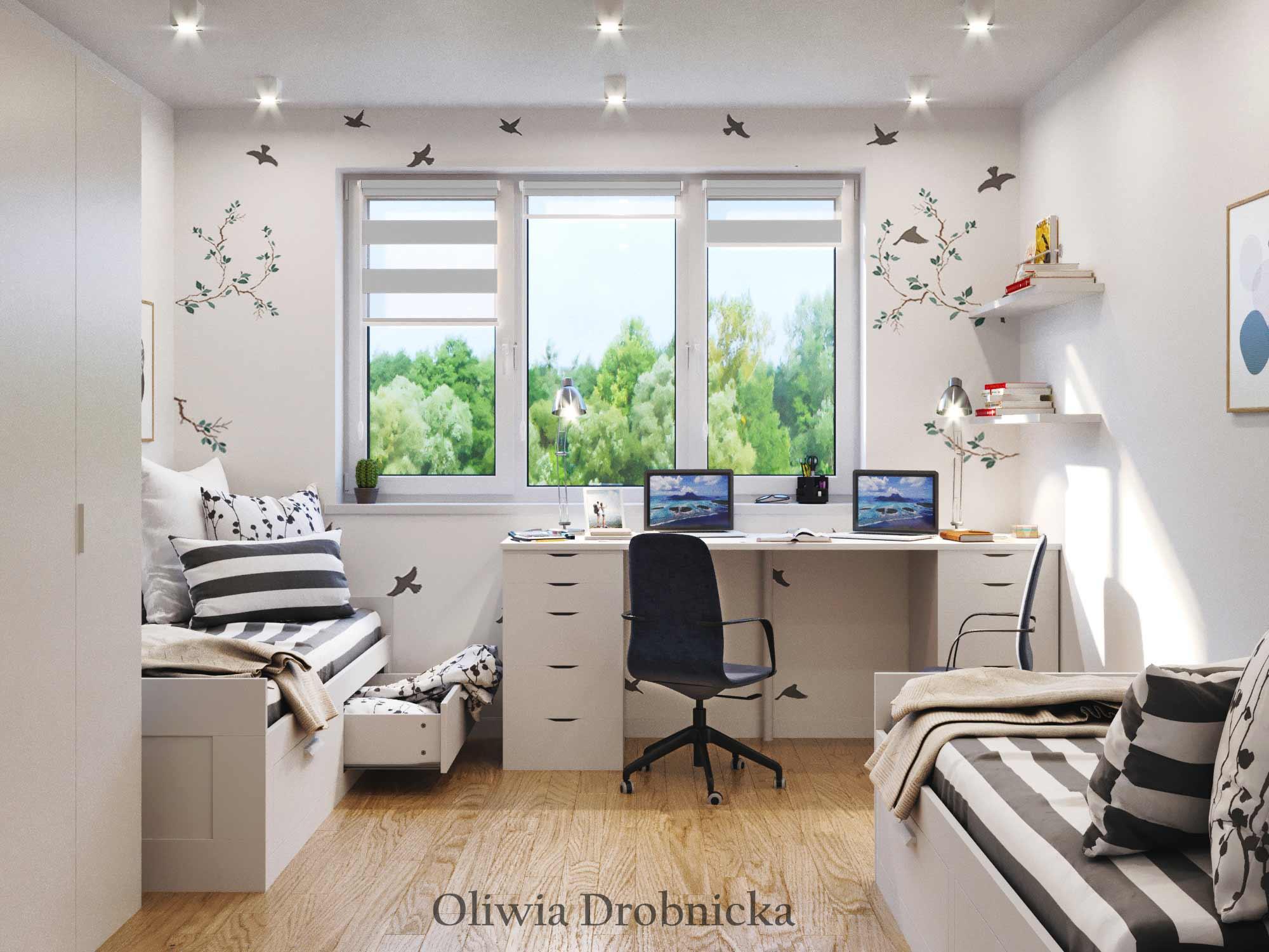 Projekt Pokoju Dziecięcego Architekt Wnętrz Oliwia Drobnicka