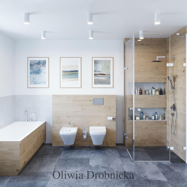 Projekt łazienki Katowice Gliwice śląsk Architekt Wnętrz