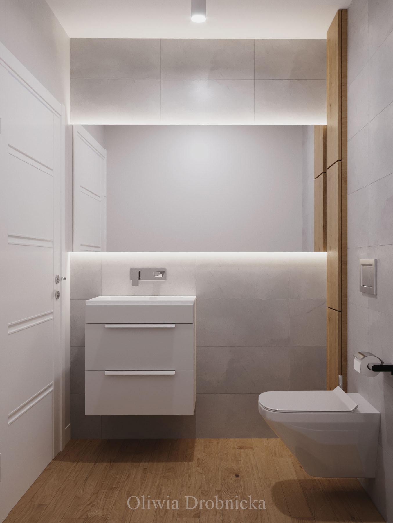 Ładna toaleta