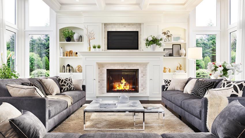 Projekt mieszkania w stylu modern-classic
