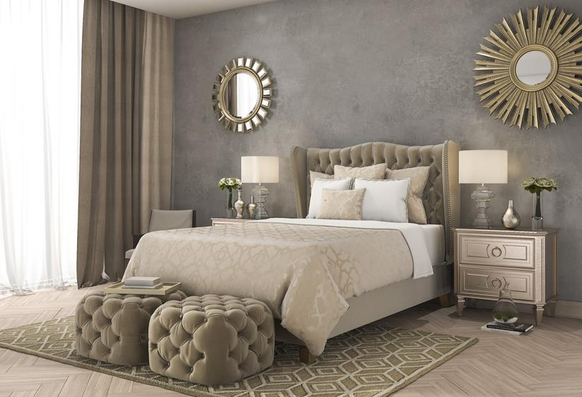 Modern classic - sypialnia