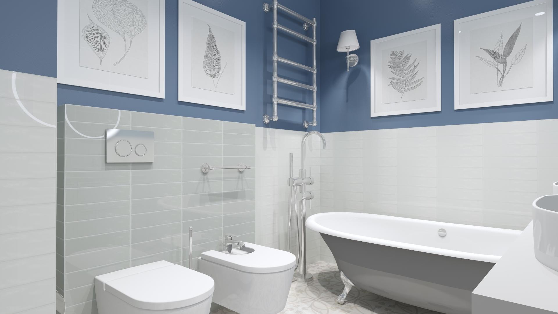 Łazienka w stylu modern classic