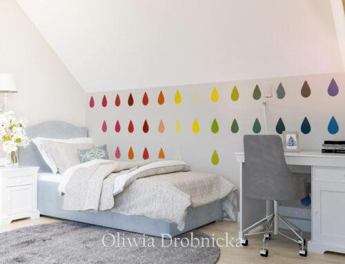Projekt pokoju dla dziewczynki