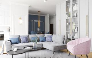Elegancki apartament w Warszawie